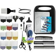 [103 美國直購 ShopUSA] Wahl 79300-1001 Color Pro Hair Clipper Kit-26 Piece Kit 理髮工具26件套$1532