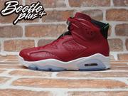 BEETLE PLUS NIKE AIR JORDAN 6 RETRO SPIZIKE HISTORY OF JORDAN MVP 聖誕紅 紅牛 TORO AJ6 694091-625