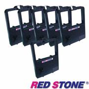 【RED STONE 】for NEC P3300黑色色帶組 (1組6入)