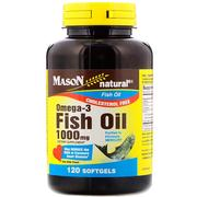 [iHerb] Mason Natural, Omega-3 Fish Oil, 1000 mg, 120 Softgels