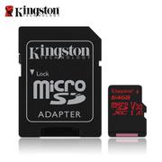 金士頓 最新 64G Kingston CANVAS React microSDXC V30 UHS-I U3 記憶卡