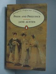 【書寶二手書T6/原文小說_OFV】Pride and prejudice_Jane Austen