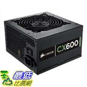 [美國直購 ShopUSA] Corsair Builder Series CX600 600 watt 80 Plus Certified 電源供應器 Power Supply Compatible with Intel and AMD Platforms ATX 700 CMPSU-600CXV2 $2890