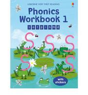 Usborne Phonics Workbook 1 發音活動本 貼紙書 *夏日微風*