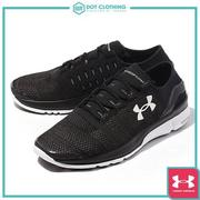 DOT 聚點 UNDER ARMOUR SPEEDFORM APOLLO 2 慢跑鞋 黑白 男鞋 1266205-001