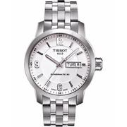 TISSOT PRC200 Powermatic 80 時尚經典機械錶(T0554301101700)-銀/39mm