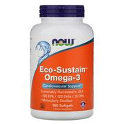 [iHerb] Now Foods, Eco-Sustain Omega-3, 180 軟膠囊