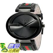 [103美國直購] 男士手錶 Gucci Mens YA133206 Interlocking Iconic Bezel Anthracite Dial Watch $46189