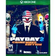 【(全新已拆)】XBOX ONE 劫薪日 2 犯罪狂潮版 英文美版 PAYDAY 2: CRIMEWAVE EDITION(實體光碟)