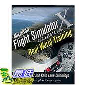 [106美國直購] 全新 Microsoft Flight Simulator X For Pilots Real World Training 1st Edition