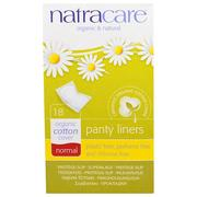 [iHerb] Natracare, Organic & Natural Panty Liners, Normal, 18 Panty Liners