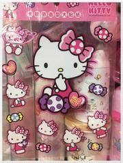 小花花日本精品♥Hello Kitty 造型貼紙防水貼紙 53105608 (3.5折)