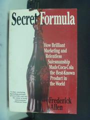 【書寶二手書T3/行銷_JIQ】Secret Formula: How Brillant Marketing