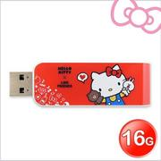 Apacer宇瞻 AH334 Kitty X Line派對聯名碟 16GB Kitty紅(AH334R)