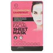 [iHerb] BCL, Be Care Love, Essential Oil Serum-Infused Facial Sheet Mask, Illuminating Grapefruit, 1 Mask