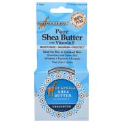 [iHerb] Out of Africa, Pure Shea Butter with Vitamin E, Unscented, 2 oz (57 g)