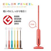 日本CCP color pencil 彩色直立式吸塵器,CT-AC55蜜桃紅
