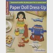 Plastic Canvas Paper Doll Dress-Up: Dress Up This Charming Plastic Canvas Doll in Cute Outfits With Sweet Accessories!