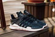 ISNEAKERS ADIDAS EQUIPMENT ADV EQT 編織 黑粉 雪花 BB2322 (9.4折)