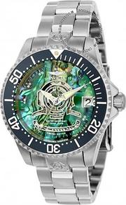 展示品 Invicta 23455 38mm Grand Diver Automatic Date Abalone Dial Bracelet Womens Watch 女錶 232487179474