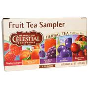 [iHerb] Celestial Seasonings, Fruit Tea Sampler, Herbal Tea, Caffeine Free, 5 Flavors, 18 Tea Bags, 1.4 oz (40 g)