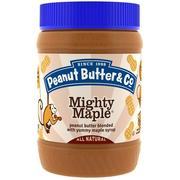 [iHerb] Peanut Butter & Co., Mighty Maple,花生醬與可口的楓糖漿相混合,16盎司(454克)