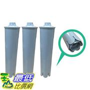 [106美國直購] 3 Jura Clearyl Blue Water Filter, Fits Coffee Machines ENA3, ENA4, ENA5, J6, J9, & J95