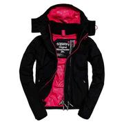 Superdry外套 女版 網眼  Black / Raspberry - G50051LOF5-27B
