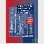 Elementary Principles of Chemical Processes 3/e with CD-ROM/1片 (IE)