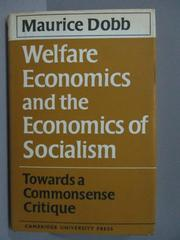 【書寶二手書T1/心理_ISA】Welfare Eonomics and the Economics of Socialism_1969