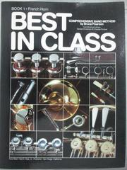 【書寶二手書T7/音樂_QIN】Best in Class_book1.French Horn_Bruce Pearso