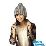 【SNOW TRAVEL】AR-60 // 100%3M防風 + 美麗諾羊毛85% 加厚3層羊毛帽 (任選1頂)