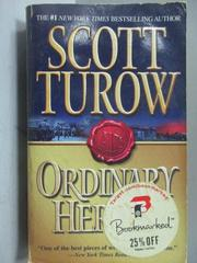 【書寶二手書T6/原文小說_OQE】Ordinary Heroes_Scott Turow