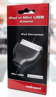 {音悅音響MUSIC HI-FI}AudioQuest iPod Mini USB Adaptor 轉接頭