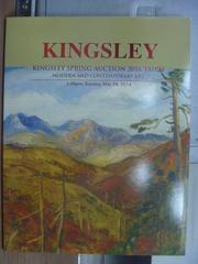 【書寶二手書T2/收藏_QLX】Kingsley spring auction 2016_Mod..._2016/5