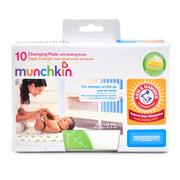 [iHerb] Munchkin, Changing Pads with Baking Soda, 10 Pack