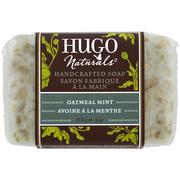 [iHerb] [iHerb] Hugo Naturals Handcrafted Soap, Oatmeal Mint, 4 oz (113 g)