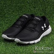 Under Armour UA Speedform Fortis 2.1 男鞋 黑灰 慢跑鞋 1285677-001