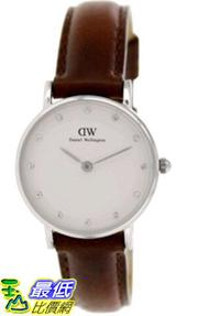 [105美國直購] Daniel Wellington Women's 女士手錶 St.Andrews 0920DW Brown Leather Quartz Watch