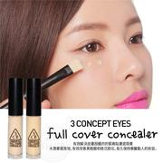 韓國3CE (3 CONCEPT EYES)FULL COVER CONCEALER 眼唇2用達人級高效潤澤遮瑕霜5ml 【AN Shop】2色供選