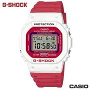 CASIO DW-5600TB-4A《G-SHOCK 經典復刻方型款》43mm/紅x白