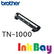 BROTHER TN-1000 / TN1000 相容黑色碳粉匣/適用機型:BROTHER HL-1110/DCP-1510/MFC-1815 /MFC-1910W(一組2支)