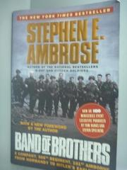 【書寶二手書T1/軍事_WGV】Band of Brothers_Ambrose, Stephen E.