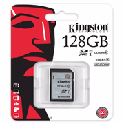 Kingston SDXC R:80MB/s (SD10VG2)記憶卡 128GB 香港行貨