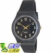 [105美國直購] Swatch Men's 男士手錶 Originals GB274 Black Plastic Swiss Quartz Watch