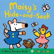 【Song Baby】Maisy's Hide And Seek Sticker Book(貼紙書)