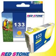 RED STONE for EPSON NO.133/T133450墨水匣(黃色)