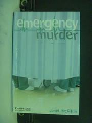 【書寶二手書T4/原文小說_OFP】Emergency Murder_McGiffin, Janet