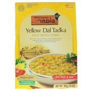 [iHerb] Kitchens of India, Yellow Dal Tadka, Split Lentil Curry, 10 oz (285 g)