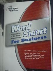 【書寶二手書T5/字典_XFX】Word Smart for Business_Paul Westbrook